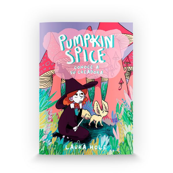 Pumpkin Spice conoce a su creadora de Laura Hole (Underbrain Books)