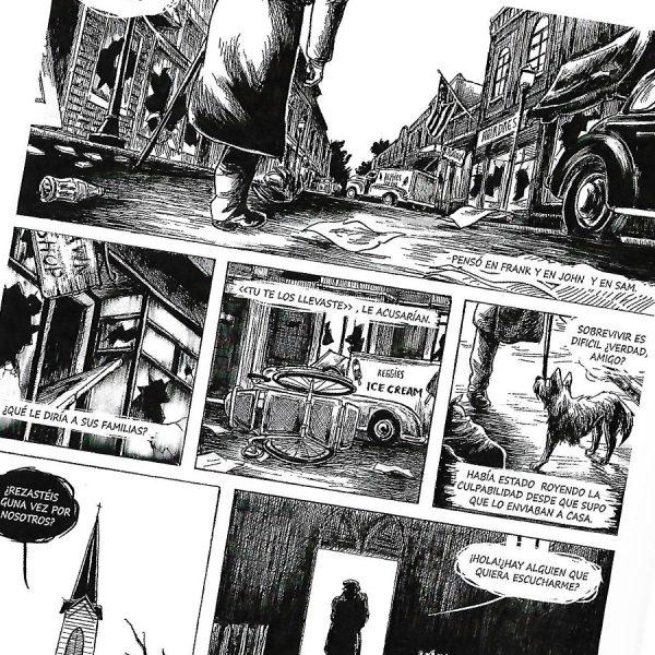 Muestra de Trilogía americana (Ediciones Kudelka)
