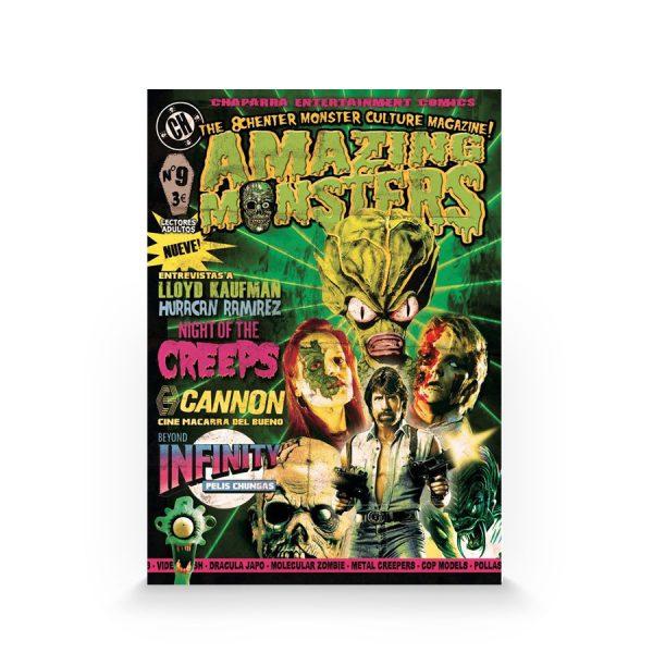 Amazing Monsters #9 (Autoedición)