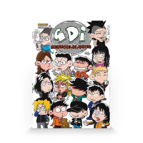 GDI Generación de idiotas #1 (Autoedición)