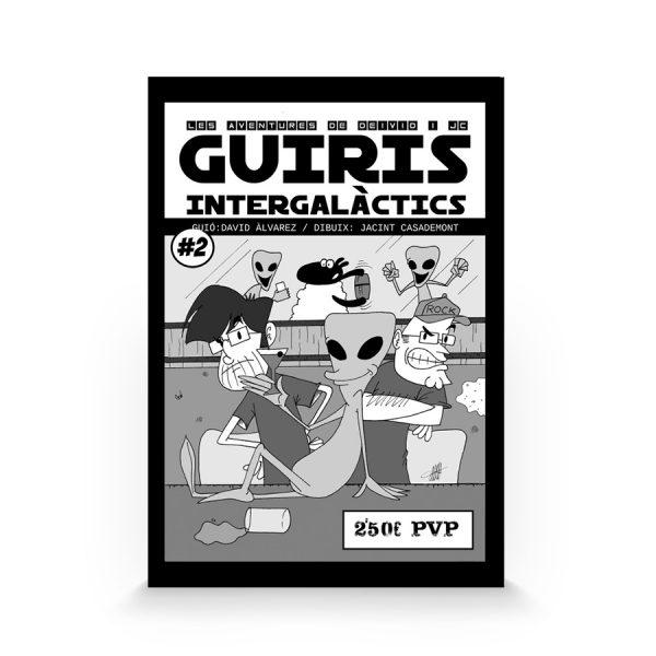 Guiris intergalactics de JC y Deivid (Autoedición)