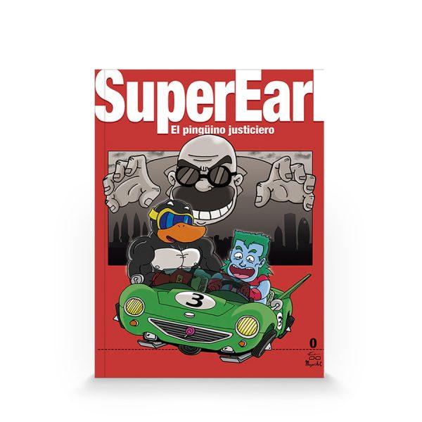Super Earl #1 - El pingüino justiciero (autoedición)