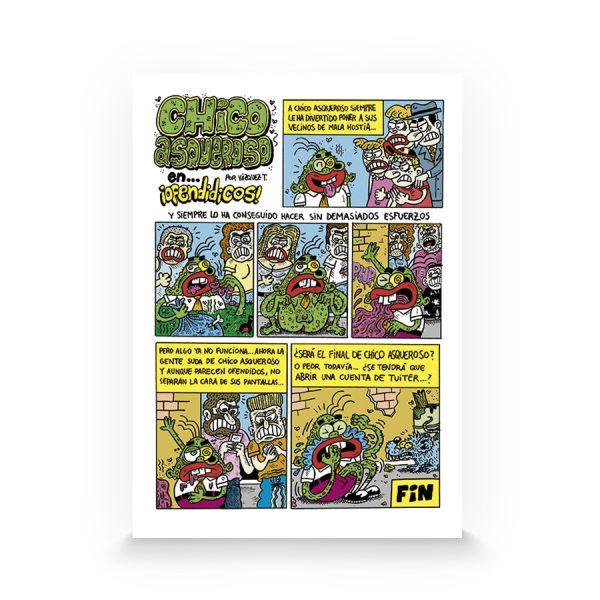 Muestra de Disentería cómix #1 fanzine