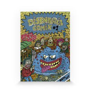 Disentería cómix #1 fanzine