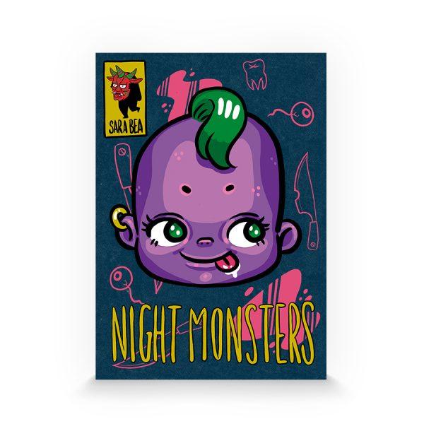 Night monsters de Sara Bea