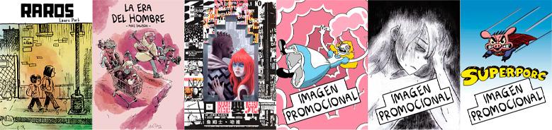 Portadas de Underbrain Books 2021