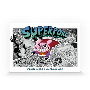 Superporc contra l'industria càrnica de Jaume Fibla i Raimond GBF