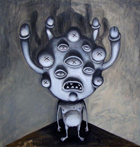 Pintura de Rallito-x