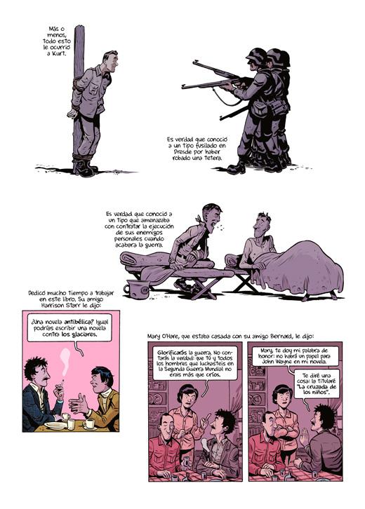 Página de Matadero Cinco