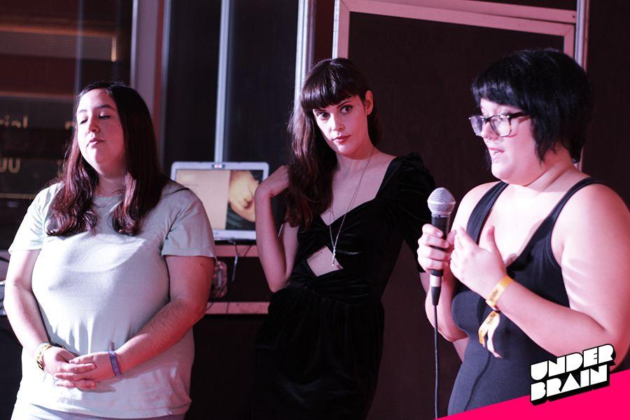 Alba Medrano, Anneke Necro y @QueerPunkRiot