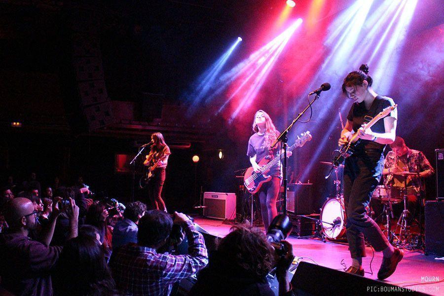 Mourn + Madee en concierto (08/02/2015)