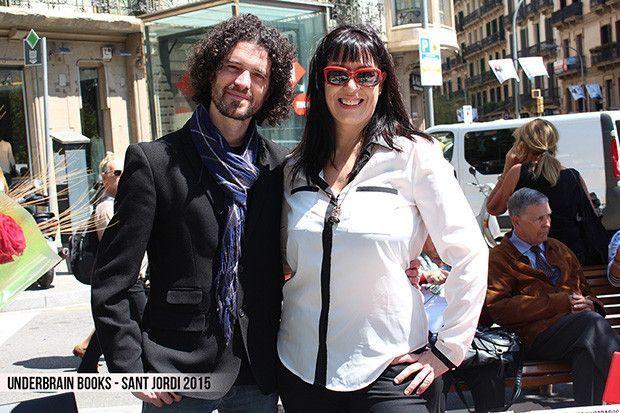 Underbrain-books Sant Jordi 2015  - Alex Salgado y Patricia Muñiz