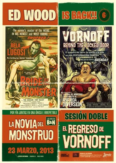 Proyección Estreno de Vornoff, Behind the Locked Door