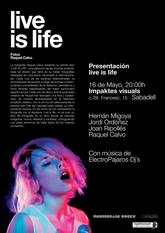 Presentación Live is life