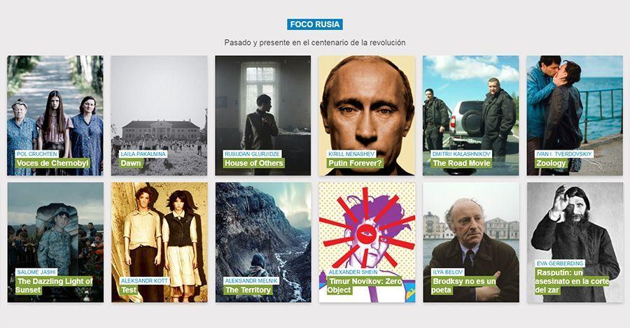 Atlántida Film Fest sección Foco Rusia