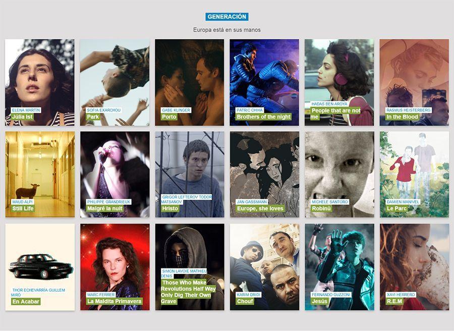Atlántida Film Fest sección Generación