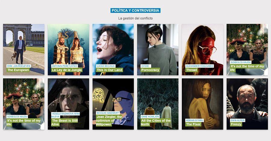 Atlántida Film Fest sección Política y controversia