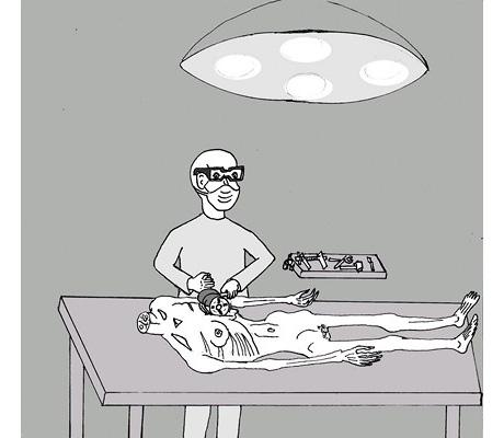 ilustración 2 de hombre loba por daniel jae