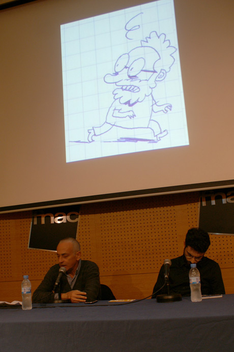Presentación de Dinero Gratis, Gonzalo Canedo y Carlo Padial