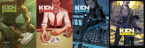 portadas de Ken Games