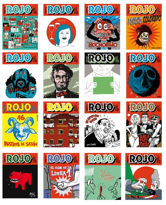 portadas de ROJO