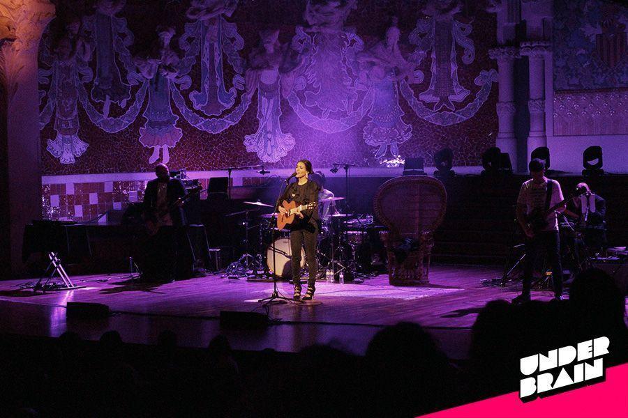 Bebe en el Palau de la Música Catalana