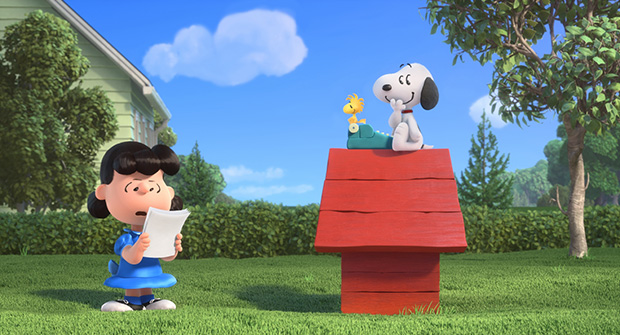 Lucy y Snoopy