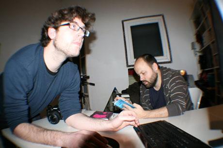 foto de Bouman y Miguel Noguera por McKeyhan