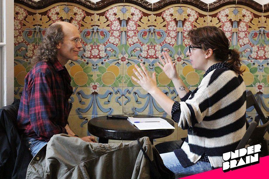 Chester Brown entrevistado por Laura Fernández