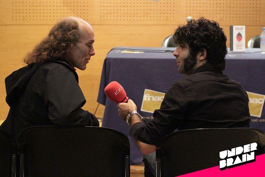 Chester Brown entrevistado por Roger Seró de la competencia