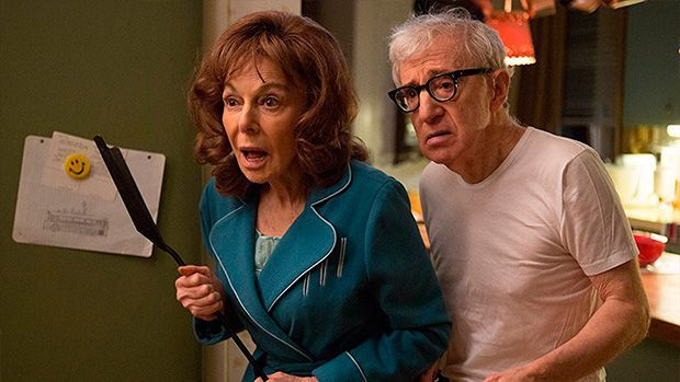 Elaine May y Woody Allen