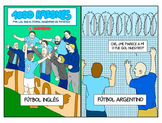 Fútbol Argentino en Crústule
