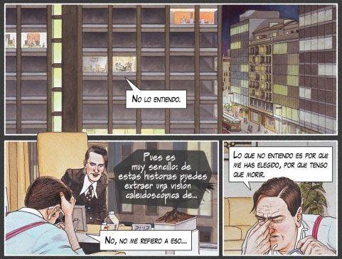 Extracto del cómic dibujado por Agustín Ferrer Casas