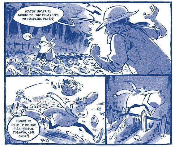 Viñetas de Duerme Pueblo