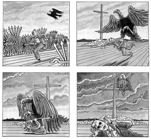Viñetas de la primera edición de El arte de volar