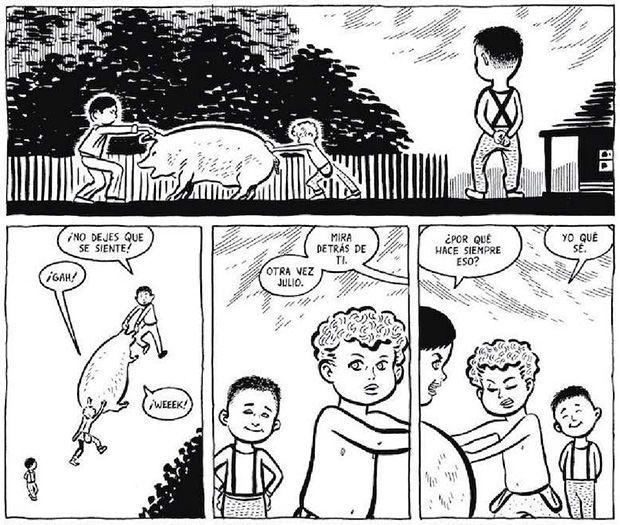 viñetas del cómic