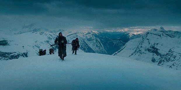 Muestra de los paisajes de la película