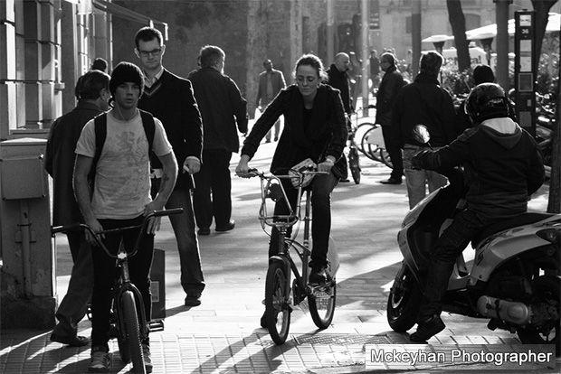 Bicicletas por Barcelona