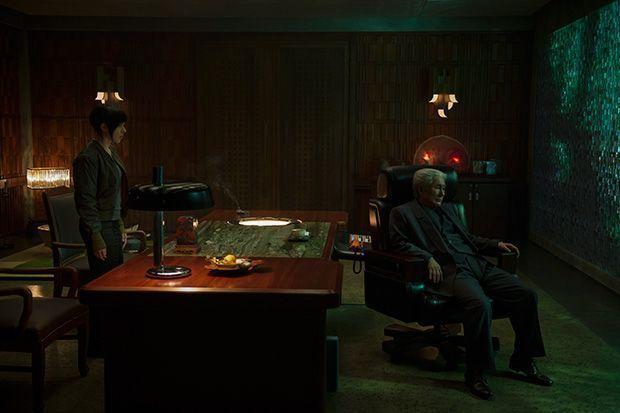 Takeshi Kitano en Ghost in the shell