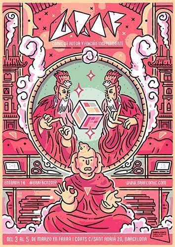 Cartel de Graf, obra de Álvaro Ortiz