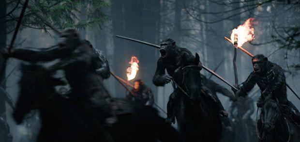 Fotograma de La guerra de los simios