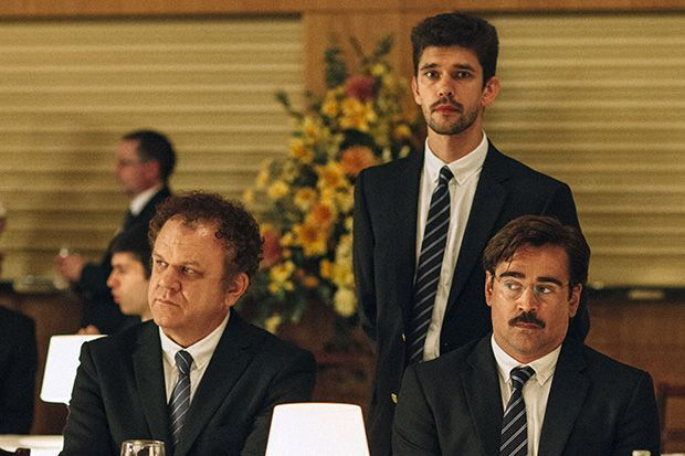 John C. Reilly, Ben Whishaw y Colin Farrell