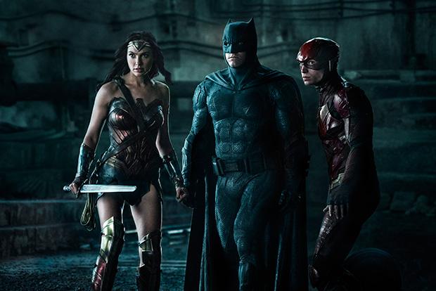 Wonder woman, Batman, Flash