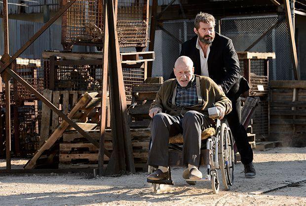 Lobezno y Xavier en Logan