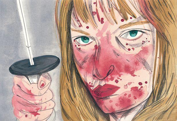 Uma Thurman en Kill Bill