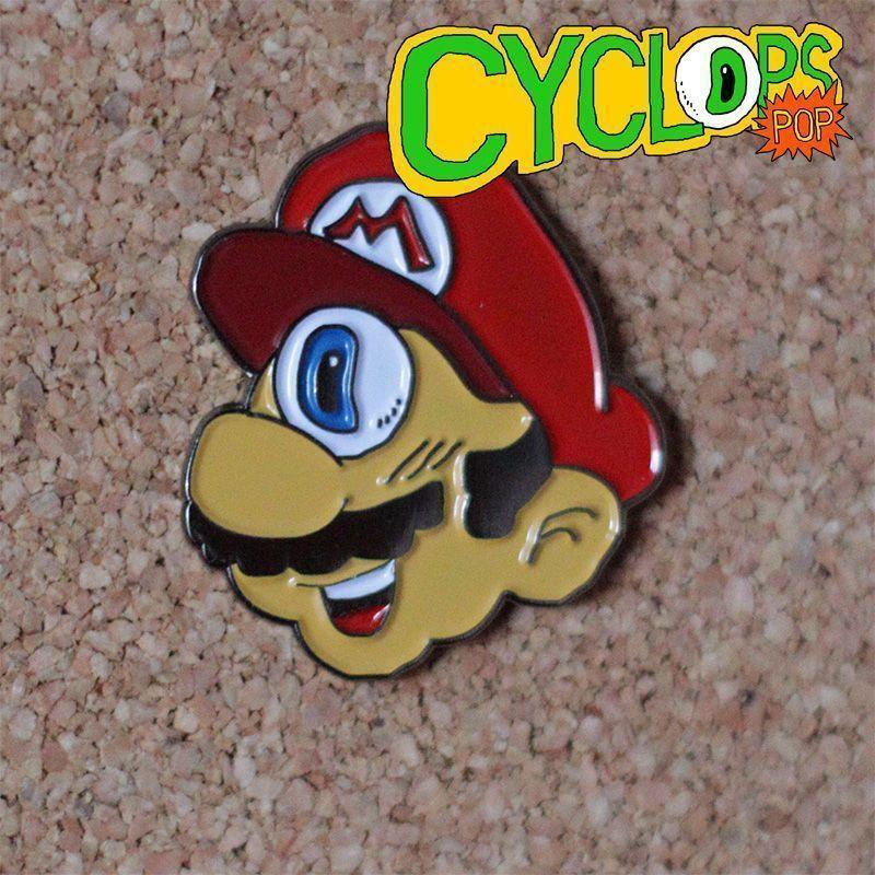 Mario Bros cíclope de Cyclops pop