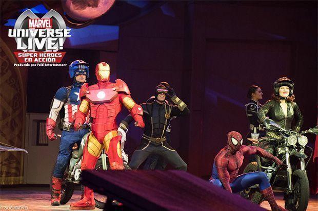Super héroes de Marvel Universe!