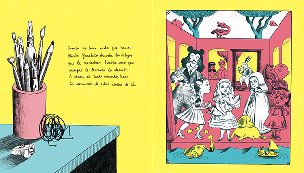 Míster garabato, páginas interiores 1