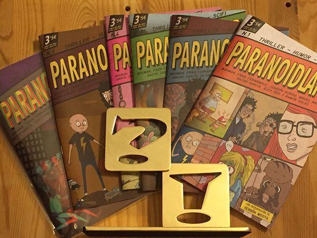 Paranoidland Mejor Fanzine del Salón del Cómic de Barcelona 2017