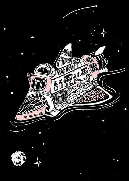 La nave Pink Mousse